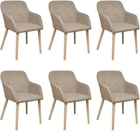 sillas madera y tela comedor