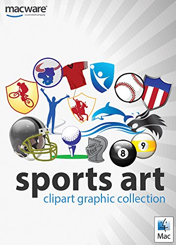 Sports Art ClipArt Graphic Collection for Mac [Download] by Summitsoft