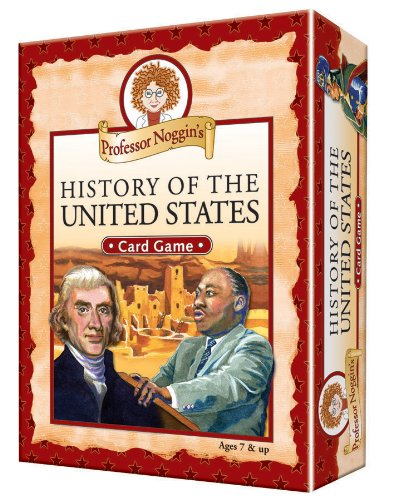 Professor Noggin's History of the United States - A Educational Trivia Based Card Game For Kids