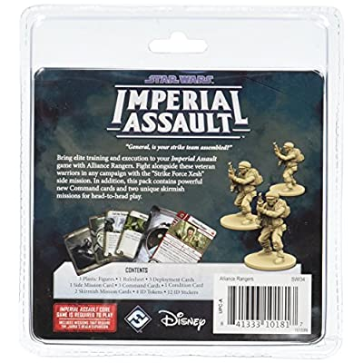 Star Wars: Imperial Assault - Alliance Rangers: Toys & Games