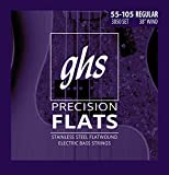 Best Bass Strings - GHS Strings M3050 4-String Precision Flatwound, Stainless Steel Review