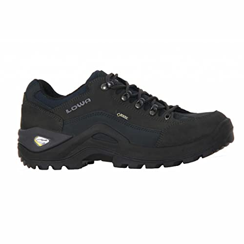 Lowa Mens Renegade Gore-Tex Lo Dark Grey Grey Nubuck Shoes 12 UK:  Amazon.co.uk: Shoes & Bags