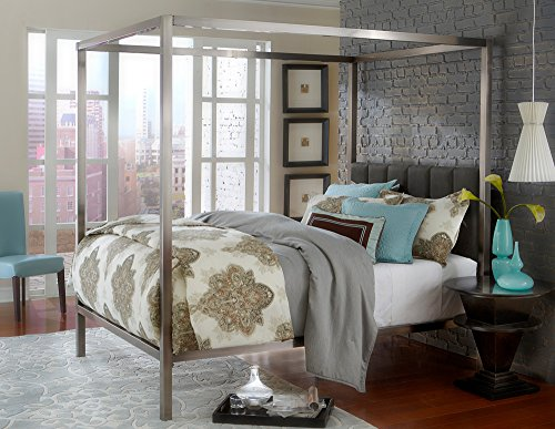 Hillsdale Chatham Contemporary Canopy King Bed with Bed Frame