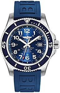 Breitling Superocean II 44 Blue Dial Mens Watch A17392D8/C910-157S