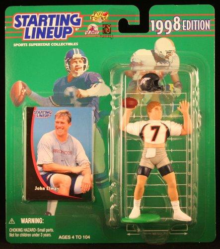Starting Lineup 1998 Edition, John Elway Denver Broncos Figure
