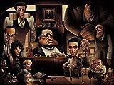 LaFamiglia. A Tribute to the Godfather Giclée
