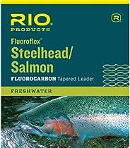 RIO Fly Fishing Steelhead/Salmon 9' 20Lb Fishing Leaders, C