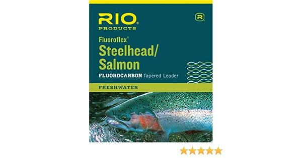 SALMON  9 FT 16 LB TAPERED NYLON FLY FISHING LEADERS RIO 3-PACK STEELHEAD