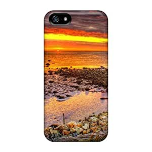 Anti-scratch And Shatterproof Dream Summer 2012 Beautiful Sky 57 For Iphone 5/5S Phone Case Cover High Quality PC Case