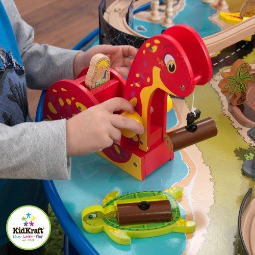 Amazon.com: KidKraft Dinosaur Train Table Model Building Kit: Toys ...