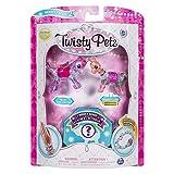 (US) Twisty Petz, Series 2 3-Pack, Skyley Flying Unicorn, Sugarpie Llama and Surprise Collectible Bracelet Set for Kids