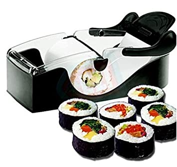 haworths sushi maker roller equipment perfect roll sushi machine diy easy kitchen magic gadget kitchen accessories amazon com  haworths sushi maker roller equipment perfect roll      rh   amazon com