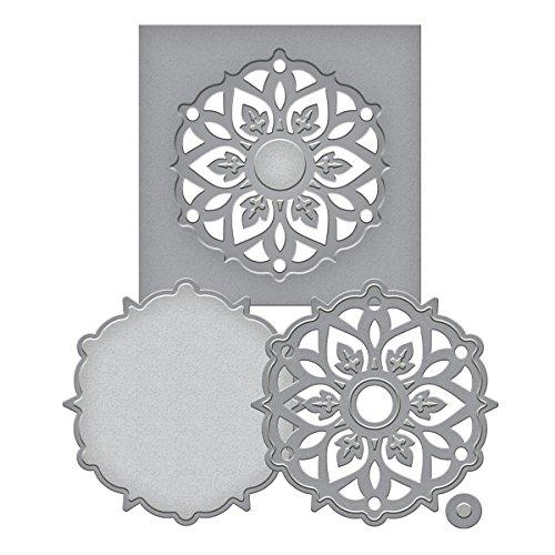 Spellbinders Shapeabilities Die D-Lites-Medallion 8 ()
