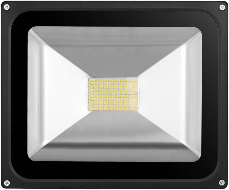 Greenmigo 2x 80W SMD Fluter Strahler Warmweiß Schwarz Aluminium Gehäuse IP65 Wasserdicht LED Lampe Wandleuchter Flulicht Flutbeleuchtung LED Gartenlampe Außenstahler 3 Stücke