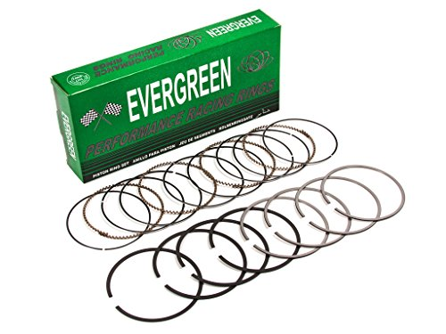 Evergreen RS4016HP.STD Fits Honda Prelude 2.2L H22A H23A High Performance Engine Piston Ring Set (Standard Size)