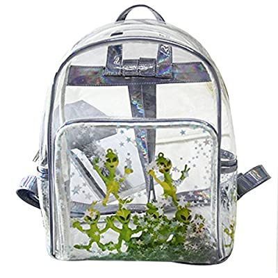 LABANCA Holographic Satchel Alien Starlet Printed Daypack Casual Backpack 85%OFF