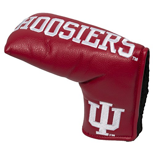 Team Golf NCAA Indiana Hoosiers Golf Club Vintage Blade Putter Headcover, Form Fitting Design, Fits Scotty Cameron, Taylormade, Odyssey, Titleist, Ping, Callaway - Indiana Hoosiers Golf Headcover