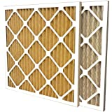 US Home Filter SC60-20X20X1-6 20x20x1 Merv 11 Pleated Air Filter (6-Pack), 20 x 20 x 1