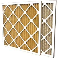 US Home Filter SC60-14X25X1-6 MERV 11 Pleated Air Filter (Pack of 6), 14 x 25 x 1