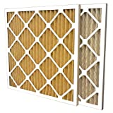 US Home Filter SC60-20X22X1-6 20x22x1 Merv 11 Pleated Air Filter (6-Pack), 20'' x 22'' x 1''