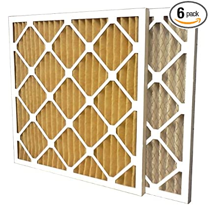 eb0ab96d2f8 US Home Filter SC60-14X14X1-6 MERV 11 Pleated Air Filter (Pack of 6 ...