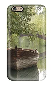 Gaudy Martinezs's Shop Excellent Design Pretty Boat In A River Case Cover For Iphone 6