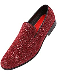 Red Men S Loafers Amp Slip Ons Amazon Com