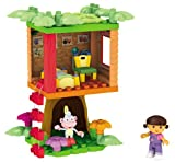 Mega Bloks Dora's Buildable Boots Treehouse Adventure