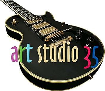 Artstudio35 Trey Anastasio - Guitarra en miniatura
