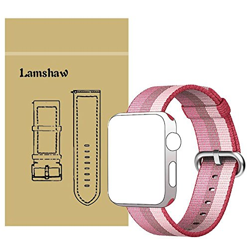Lamshaw Classic Replacement iWatch Pink 42mm product image