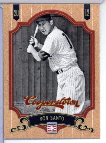 2012 Panini Cooperstown Hall of Fame Baseball Card # 30 Ron Santo