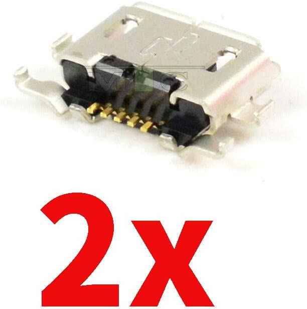 Mustpoint 2X USB Charger Charging Port Dock Connector for BlackBerry Priv STV100-1 STV100-2