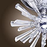 DINGGU™ Modern Flush Mounted Crystal LED Ceiling