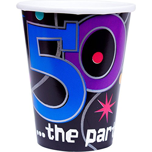 The Party Continuous 50th Birthday Party Paper Cups