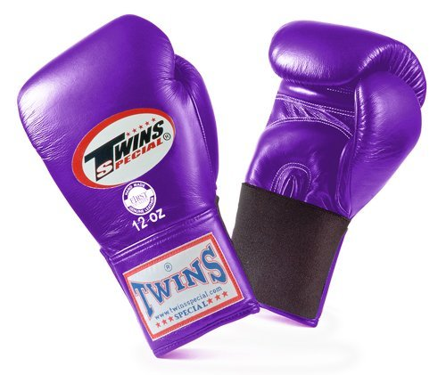 Twins Special Boxing Gloves 8oz (Purple) - 1