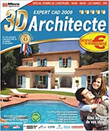 3d architecte expert cad 2009 3325120012571 for 3d architecte expert
