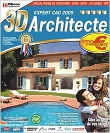 3d architecte expert cad 2009 3325120012571 for Architecte 3d amazon