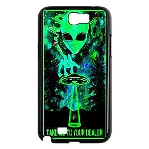 Samsung Galaxy Note 2 N7100 Phone Case Alien H8C8878556
