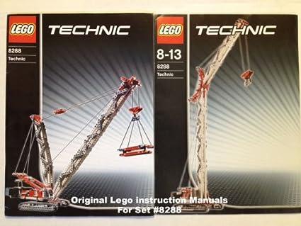 Amazon Instruction Manuals For Lego Technic Set 8288 Crawler