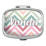Rectangle Pill Case Trinket Gift Box Names Female Ve-Vo - Vonda
