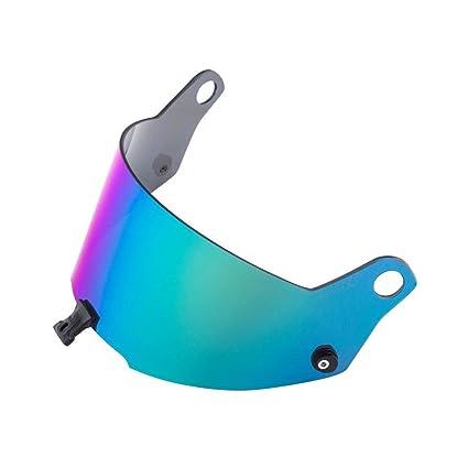 bdd7640f Amazon.com: Stilo Helmet Visor for ST5 Helmet, Iridium Blue, Dark Level:  Cell Phones & Accessories