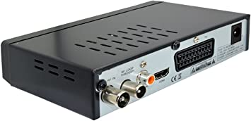 Set H 265 Hevc Dvb T2 Receiver With Hdmi And Scart Mini Indoor Antenna Home Cinema Tv Video