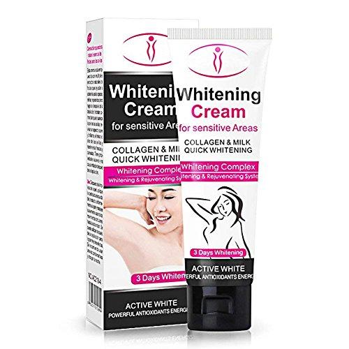 Whitening Cream for Armpit - Skin Whitening Cream for Body, Face, Neck, Bikini and Sensitive Area Skin Brightening for Hyperpigmentation Treatment