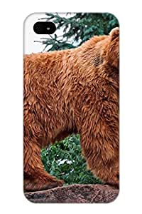 Exultantor Faddish Phone Animal Bear Case For Iphone 4/4s / Perfect Case Cover