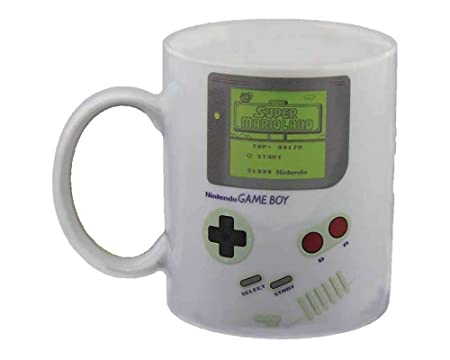 Nintendo Game Boy Heat Change Mug Ceramic Multi Colour Heat