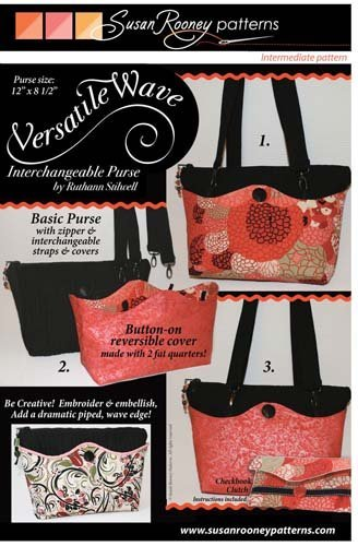 Versatile Wave Purse Pattern By Susan Rooney Patterns BCAC25630