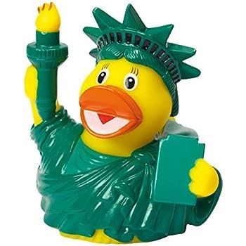 Amazon.com: EE. UU. Company Bath Toy, patito de goma Estatua ...