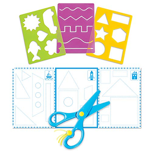 Learning Resources Trace Ace Scissor Skills Set, Fine Motor, Stem Skills, Ages 3+