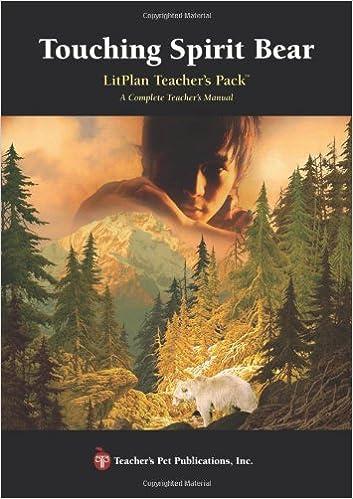 Touching Spirit Bear LitPlan - A Novel Unit Teacher Guide With ...