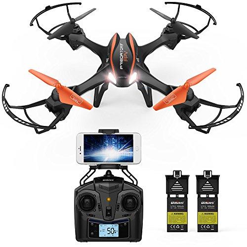 DBPOWER UDI U842 Predator WiFi FPV Drone...